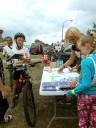 Promocja uslug WUP podczas rajdu rowerowego w Wojniczu 14.07.2019 r. 2