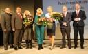 Wręczenie nagród laureatom Małopolskiej Nagrody Rynku Pracy podczas Małopolskiej Konferencji Publicznych Służb Zatrudnienia w Teatrze Bagatela w Krakowie, 05.02.2018 r.