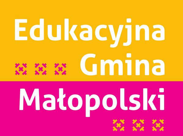 Edukacyjna Gmina Małopolski - baner