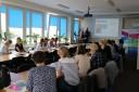 Studenci doradztwa zawodowego z wizytą w WUP, 27.08.2018 r.